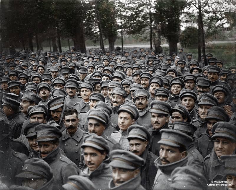 Fotos colorizadas trazem Primeira Guerra à vida 51
