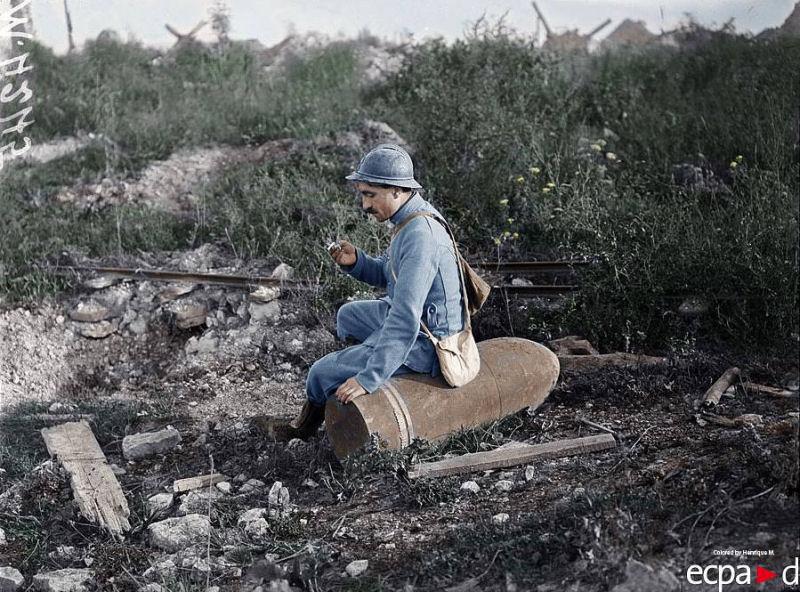 Fotos colorizadas trazem Primeira Guerra à vida 53