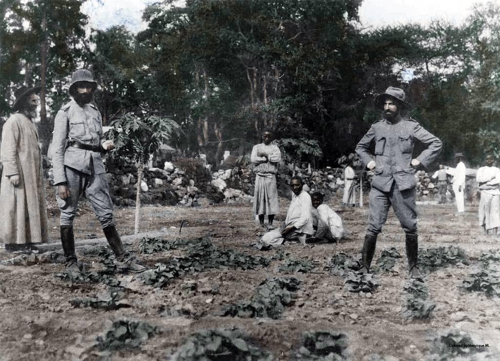 Fotos colorizadas trazem Primeira Guerra à vida 55