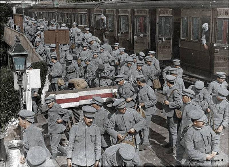 Fotos colorizadas trazem Primeira Guerra à vida 64