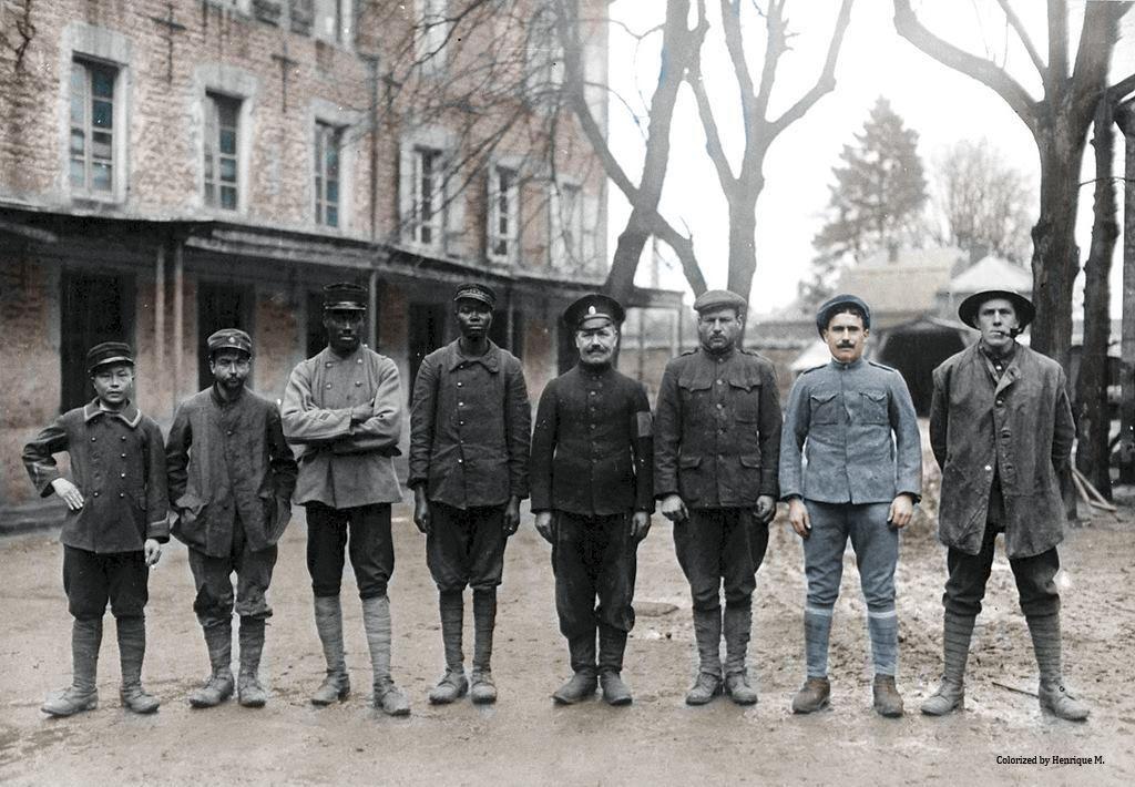 Fotos colorizadas trazem Primeira Guerra à vida 75