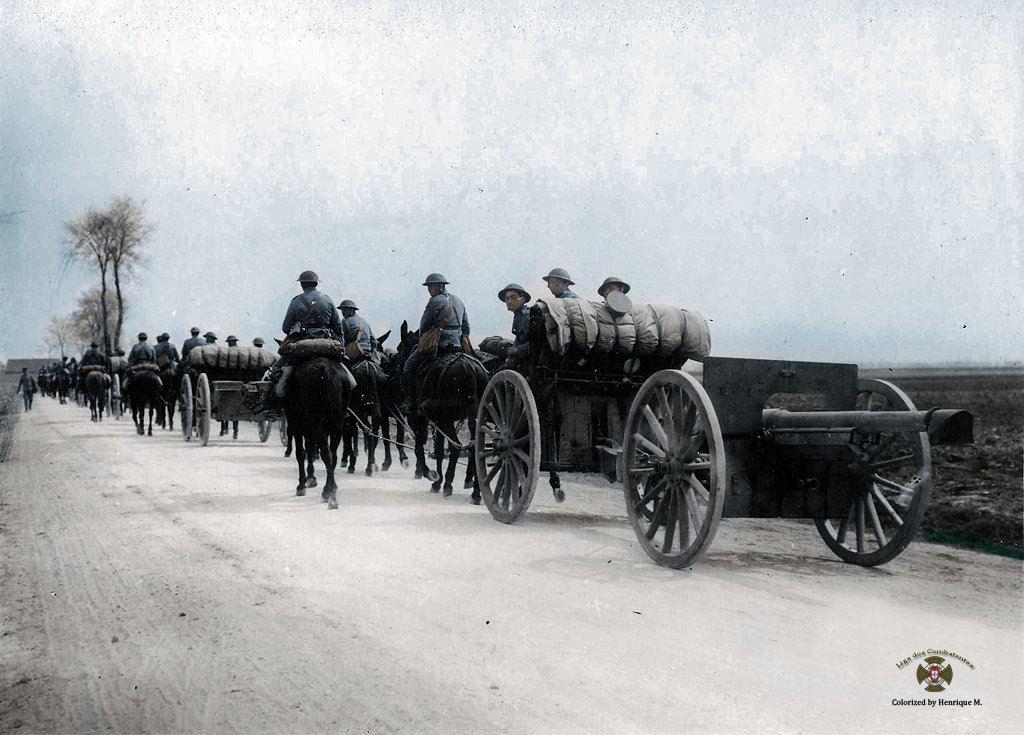 Fotos colorizadas trazem Primeira Guerra à vida 79