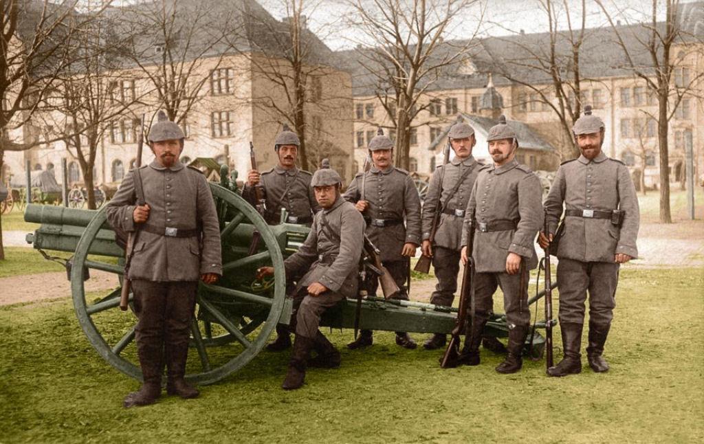 Fotos colorizadas trazem Primeira Guerra à vida 90
