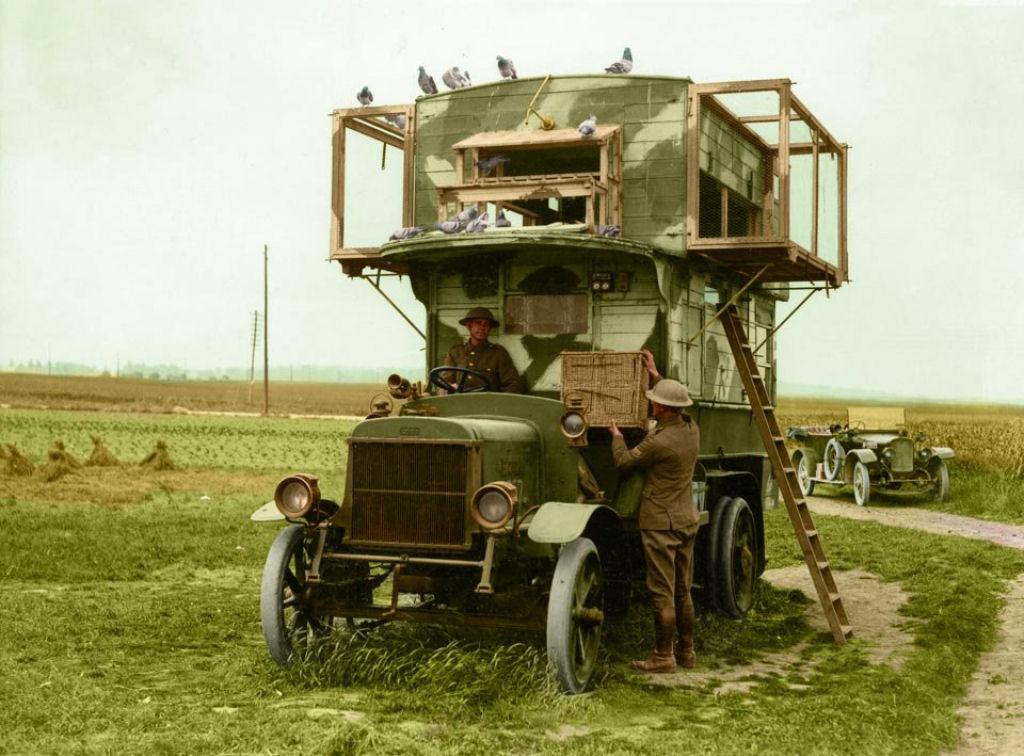 Fotos colorizadas trazem Primeira Guerra à vida 93