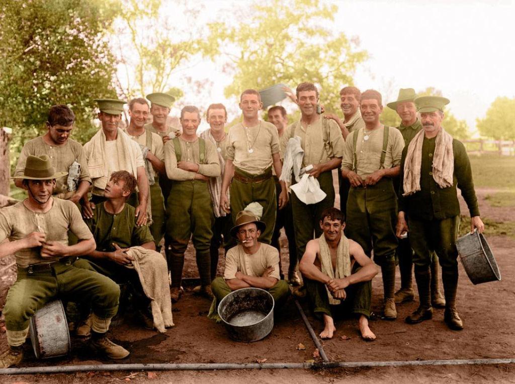 Fotos colorizadas trazem Primeira Guerra à vida 94