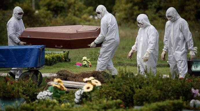 Como é o enterro de alguém morto por coronavírus?
