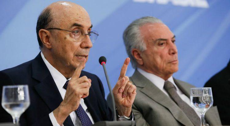 O ministro da Fazenda, Henrique Meirelles, e Temer (Foto: Beto Barata/Presidência da República)