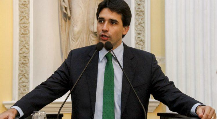 Sílvio Costa Filho, líder da bancada de oposição na Alepe (Foto: Jarbas Araújo/Alepe)