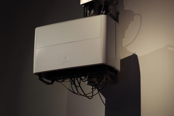Antena 5G da Ericcson, que será testada no Brasil. (Divulgação).