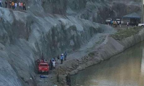 Acidente aconteceu em trecho da Transposição do Rio São Francisco / Foto: Blog do Nill Junior