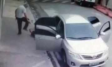 Câmera flagrou momento que policial reage e mata três suspeitos após tentativa de assalto em São Paulo / Foto: reprodução