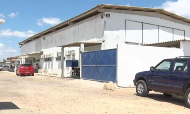 Instituto de Medicina Legal (IML) de Caruaru está em reforma desde o ano passado / Foto: reprodução/TV Jornal