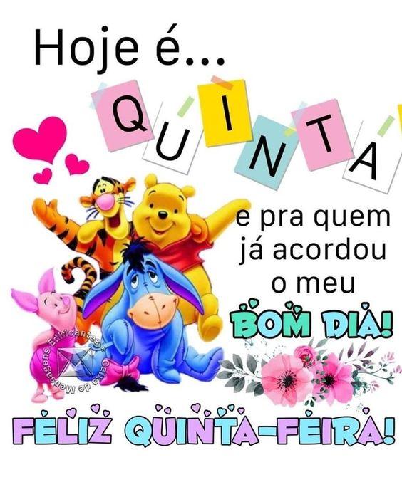 Boa Quinta-Feira fofa com Pooh