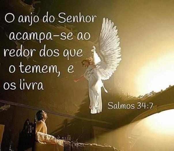 Imagens Bonitas de Boa Noite com Salmos para Ter Paz