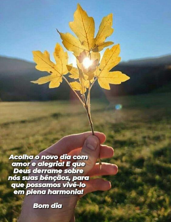 Bom Dia com amor em Deus