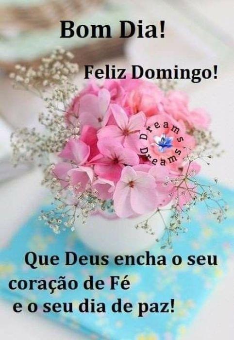 Bom Dia Domingo para WhatsApp
