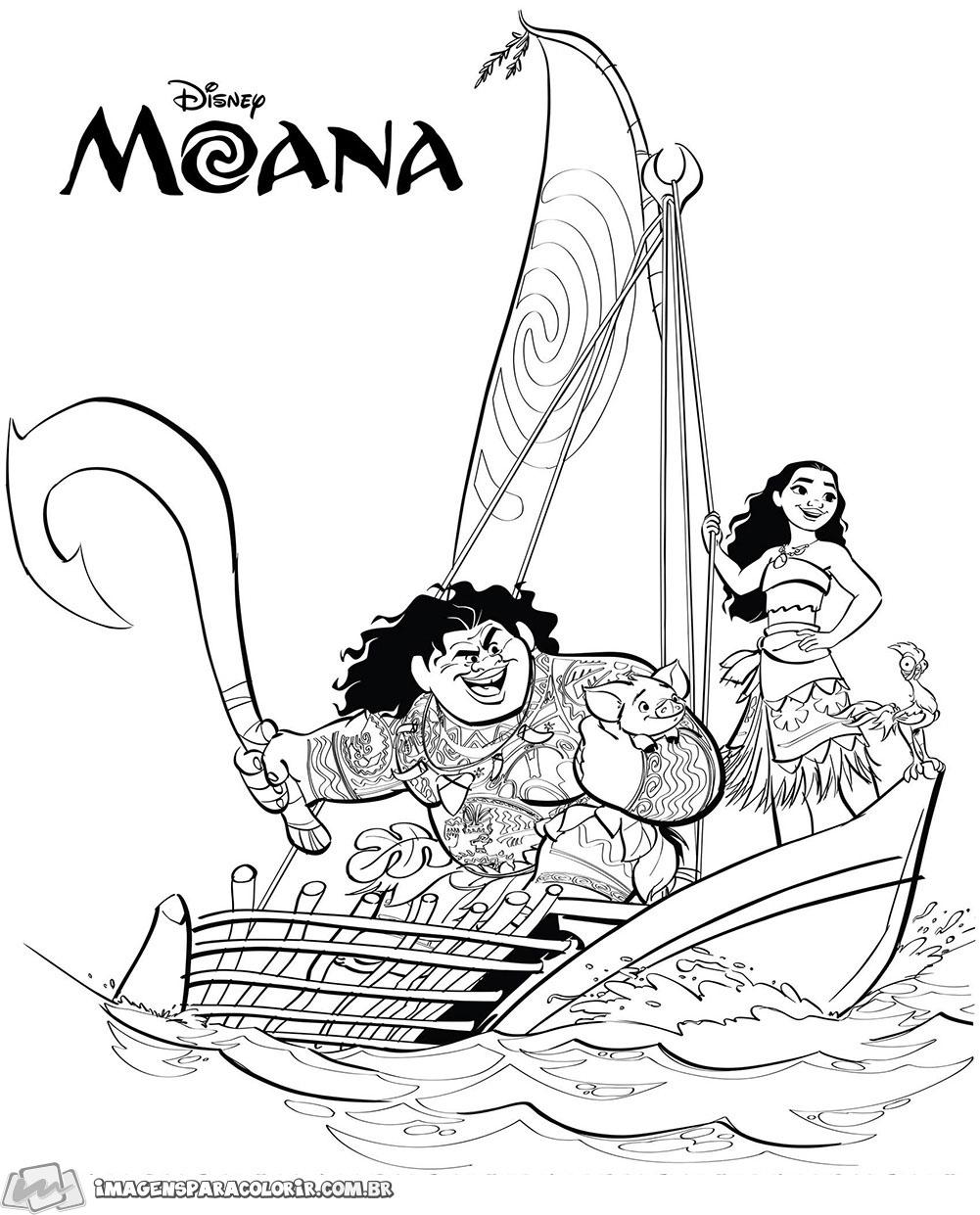 Moana - Heihei e Maui