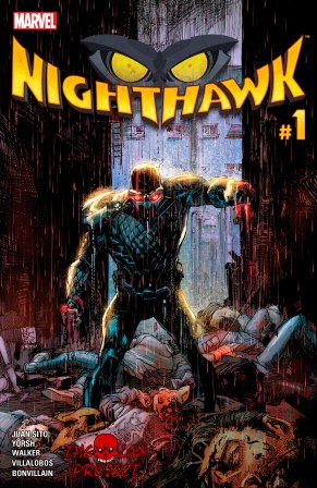 Portada Comic nighthawk vol 2