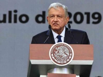 El Presidente de la Repíublica, Andrés ManuelLópez Obrador