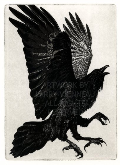 https://www.etsy.com/listing/76671855/raven-artwork-raven-crow-three-legged