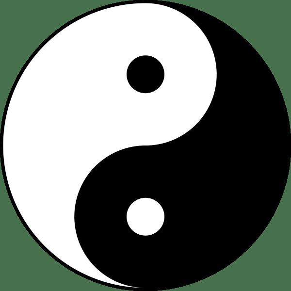 Yin Yang PNG Transparente Image PNG