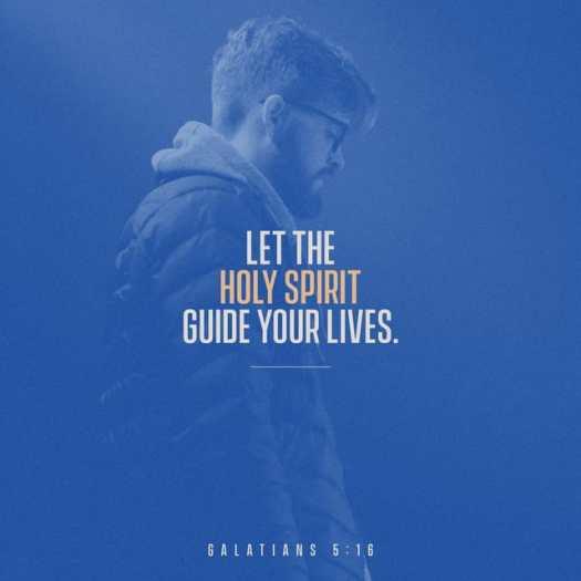 Galatians 5:16 NLT
