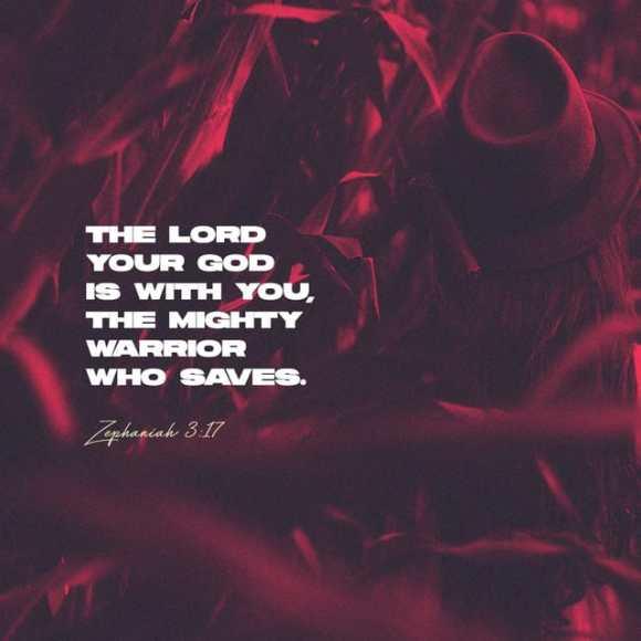Zephaniah 3:17 NIV