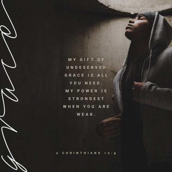 2 Corinthians 12:9 CEV