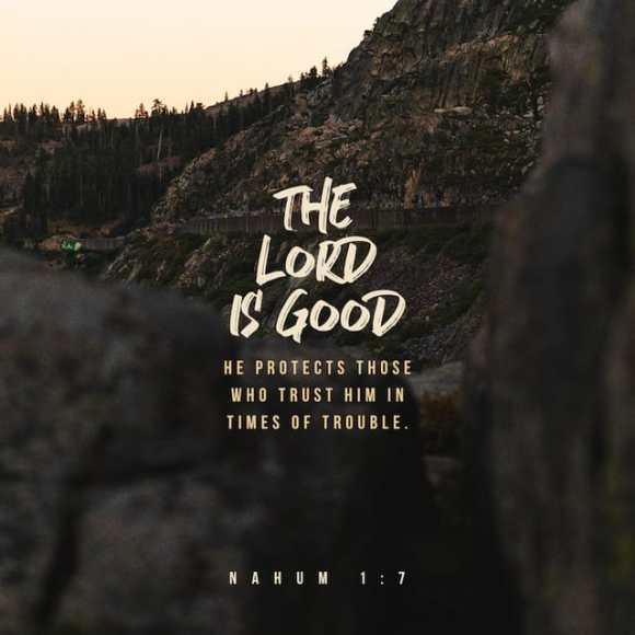 Nahum 1:7 CEV