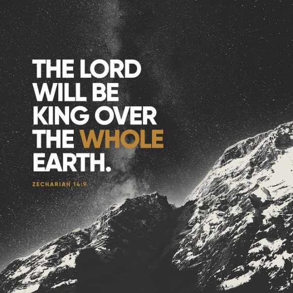 Zechariah 14:9 NIV