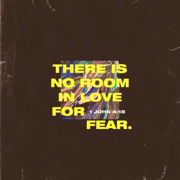 1 John 4:18 MSG