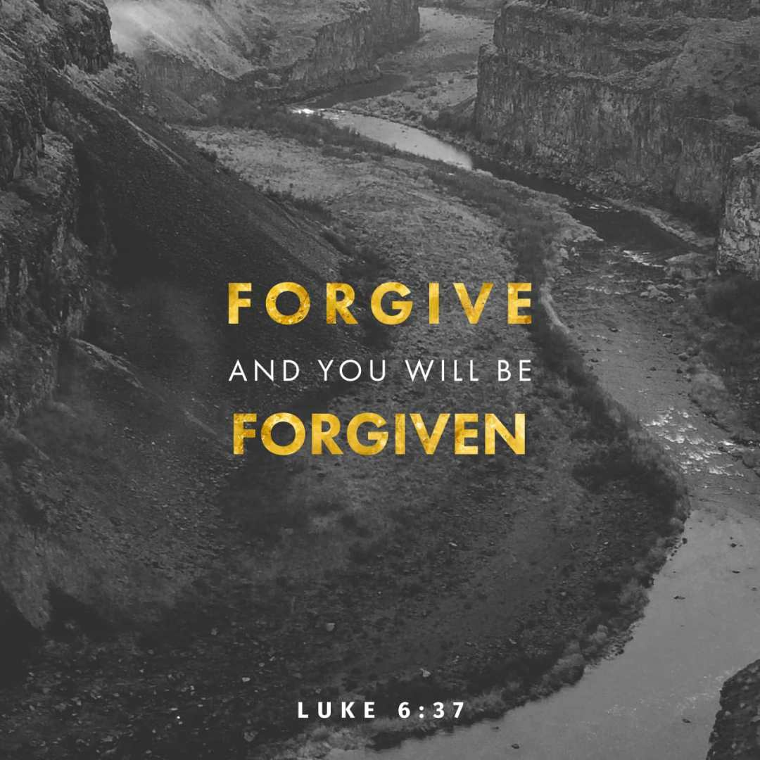 Bible Verse of the Day - day 207 - image 2176 (Luke 6:37)