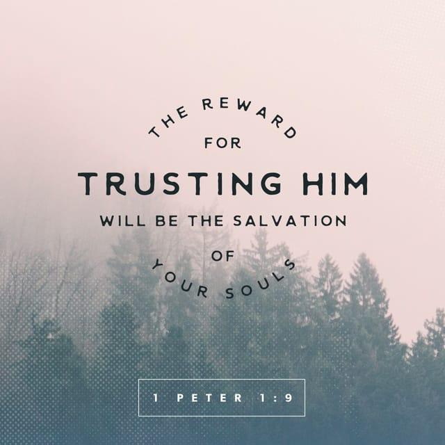 1 Peter 1:8 - https://www.bibl...