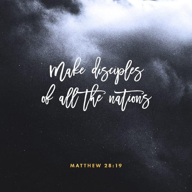 Matthew 28:19 - https://www.bibl...
