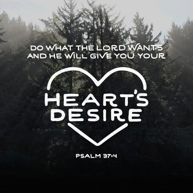 Psalms 37:4 - https://www.bibl...