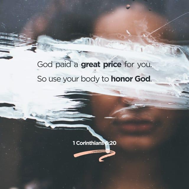 1 Corinthians 6:19 - https://www.bibl...
