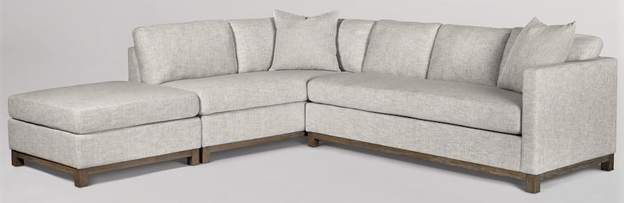 clayton sectional ottoman sold separately by taylor and jade at sprintz furniture