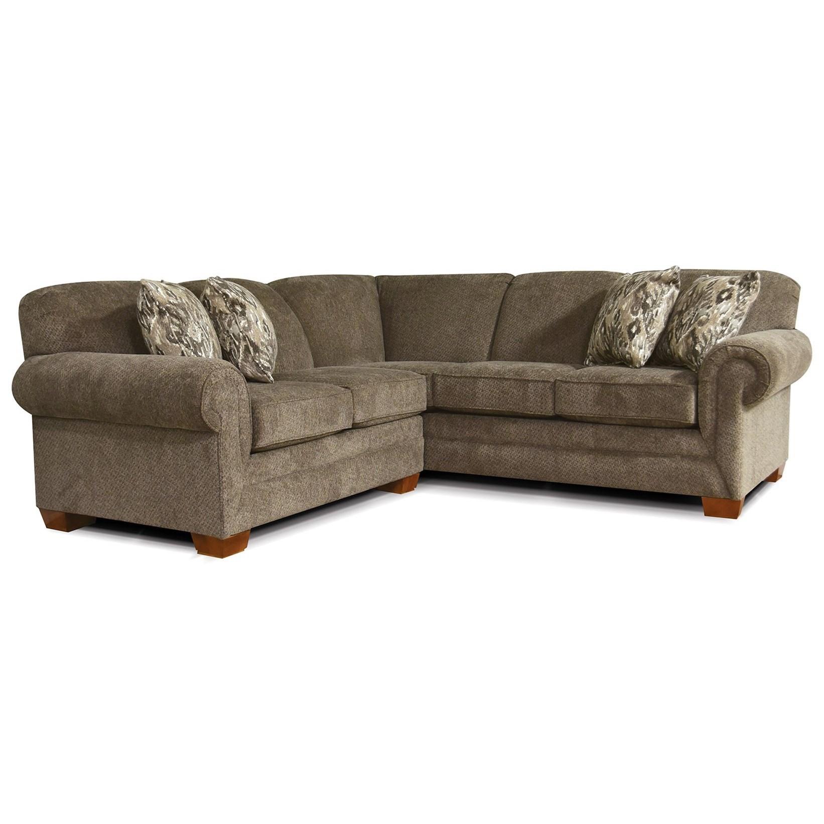 alexvale v140 small sectional sofa for