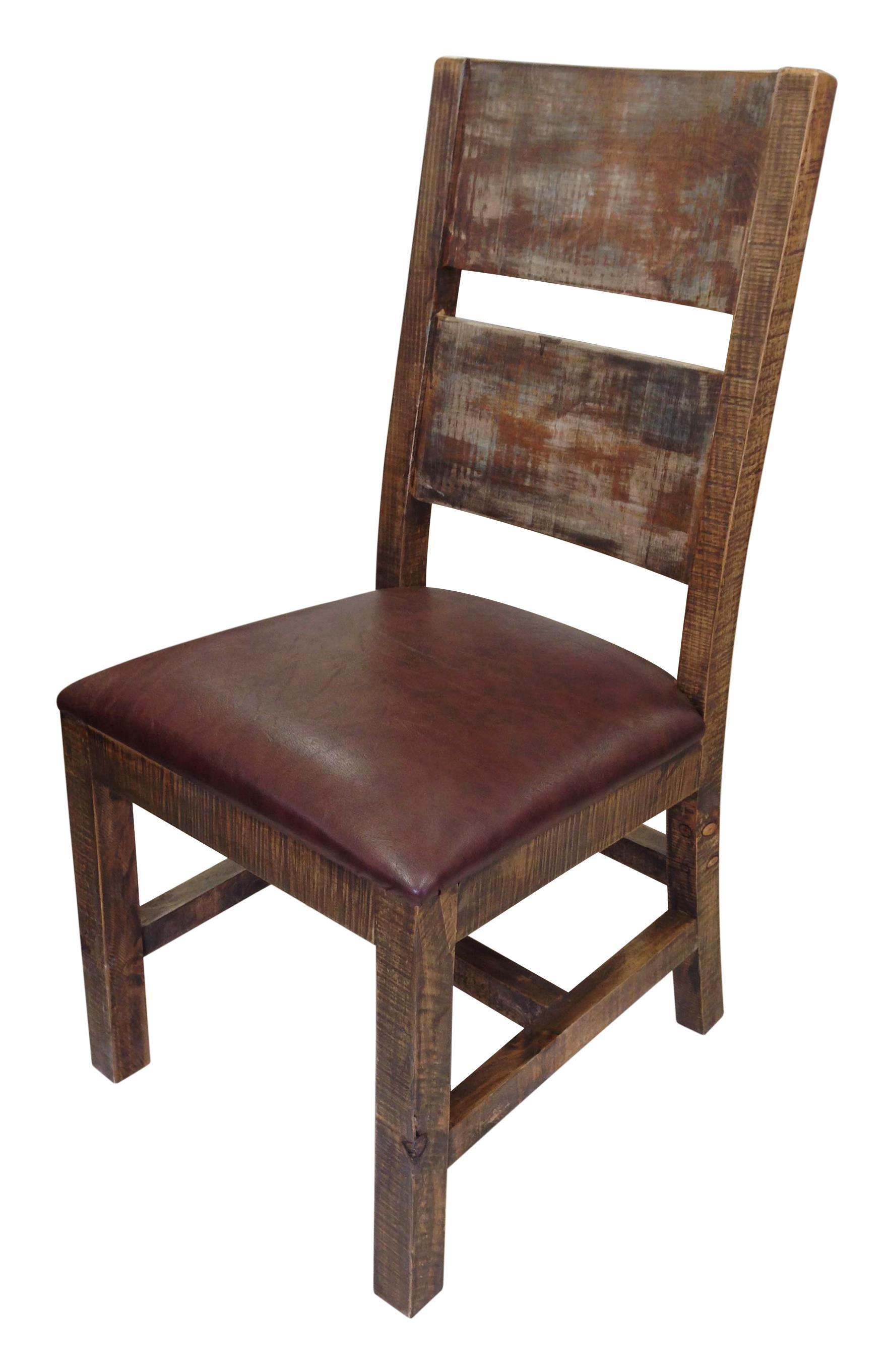 International Furniture Direct 900 Antique Solid Wood