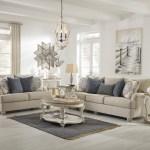 Ashley Furniture Dandrea 9900438 35 Bisque Sofa And Loveseat Set Sam Levitz Outlet Stationary Living Room Groups