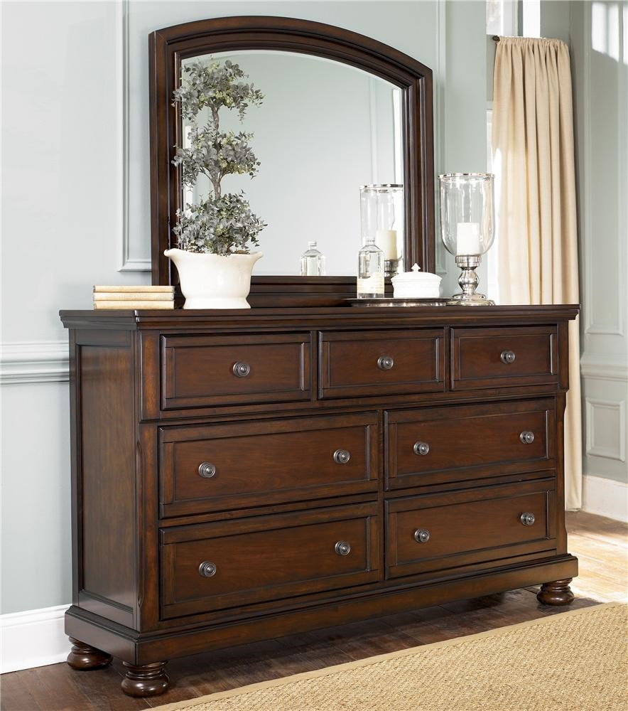 porter dresser mirror combo