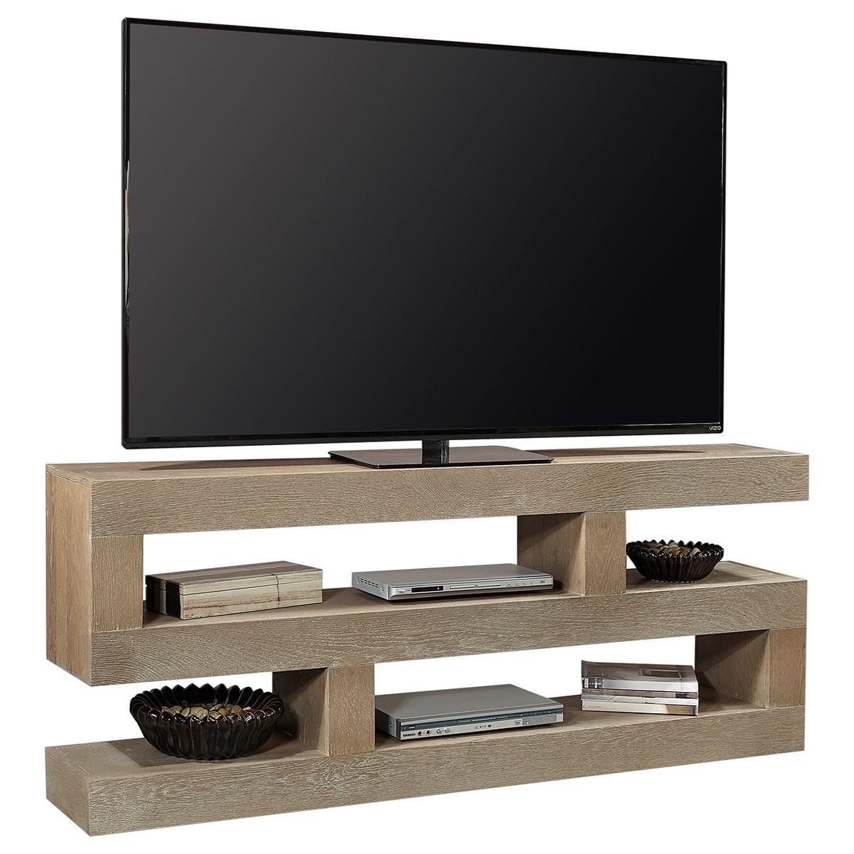 nova oak console table tv stand