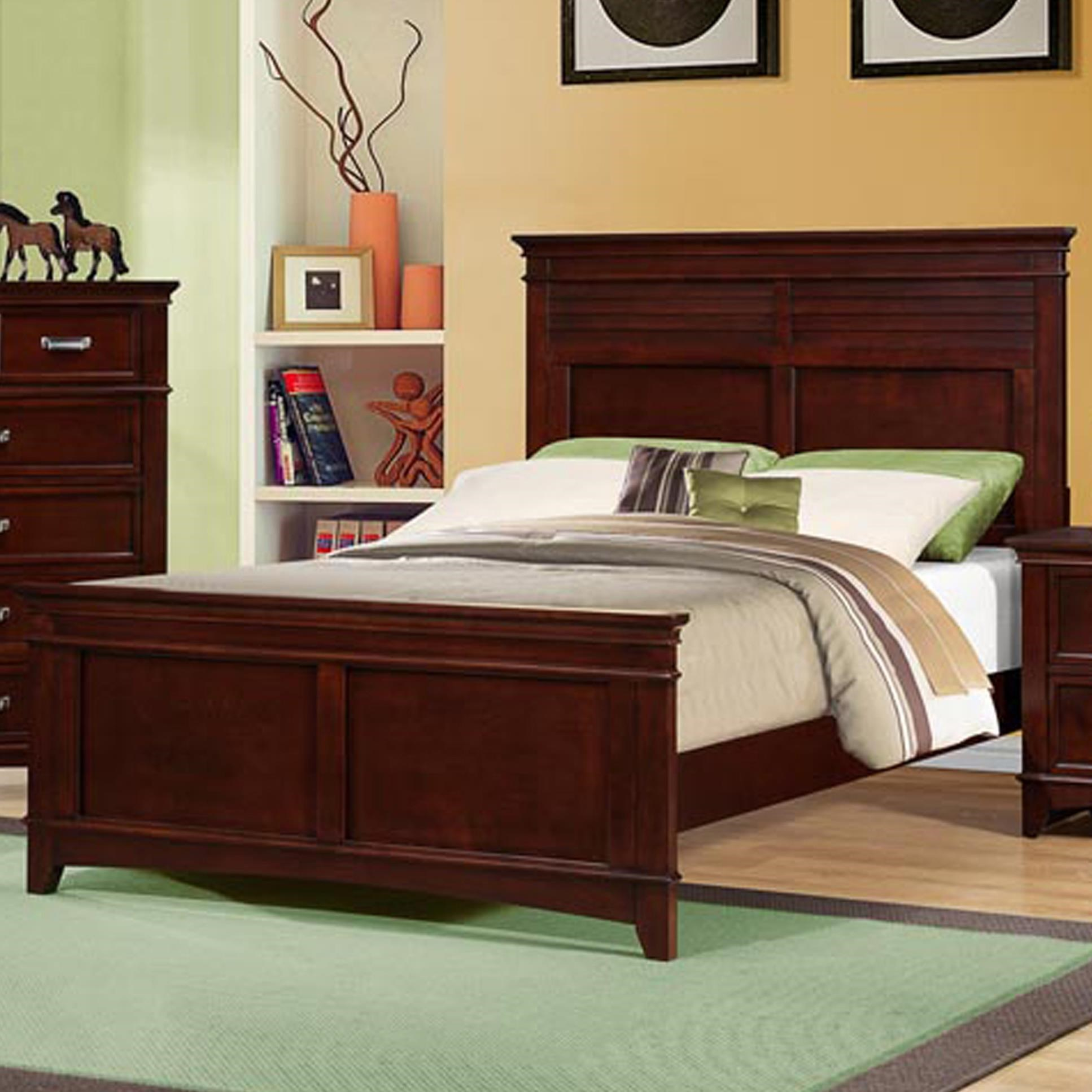 Austin Group Skylar Classic Full Bed With Crown Moulding