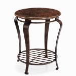 Bernhardt Clark 477 121 Round End Table Thornton Furniture End Tables