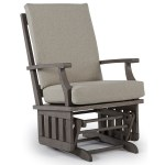 Glider Rockers Casual Glide Rocker With Modern Slat Design By Best Home Furnishings At Knight Furniture Mattress