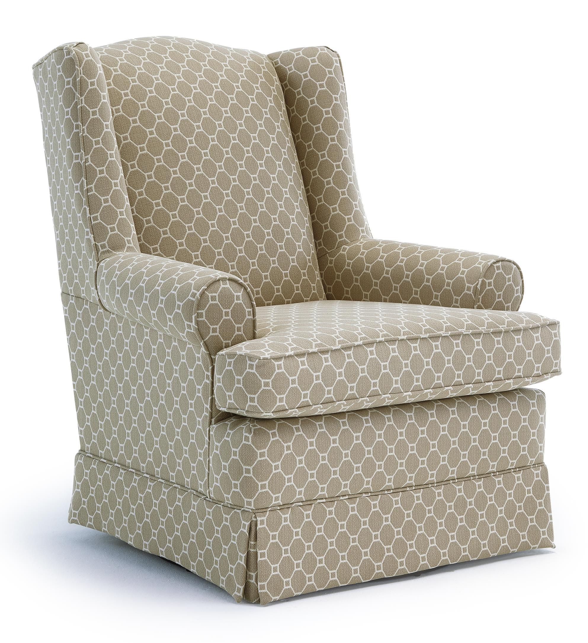Best Home Furnishings Chairs Swivel Glide 7197 Roni