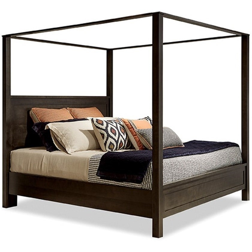 studio 19 queen poster bed with canopy