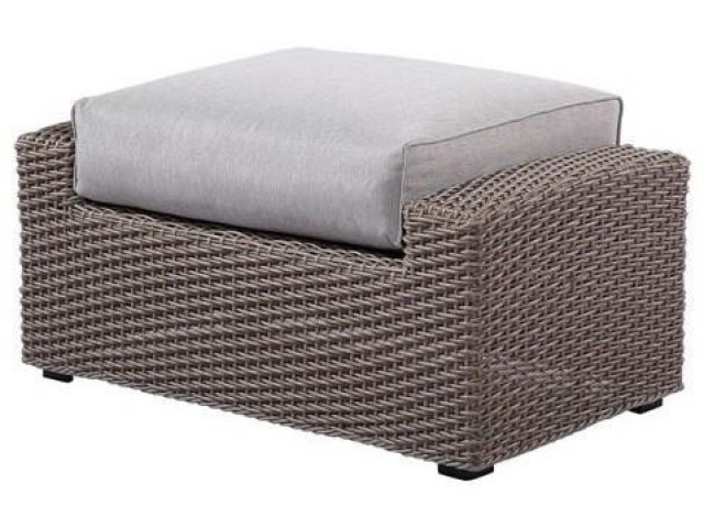emerald reims ottoman footrest with cushion | wilson's furniture