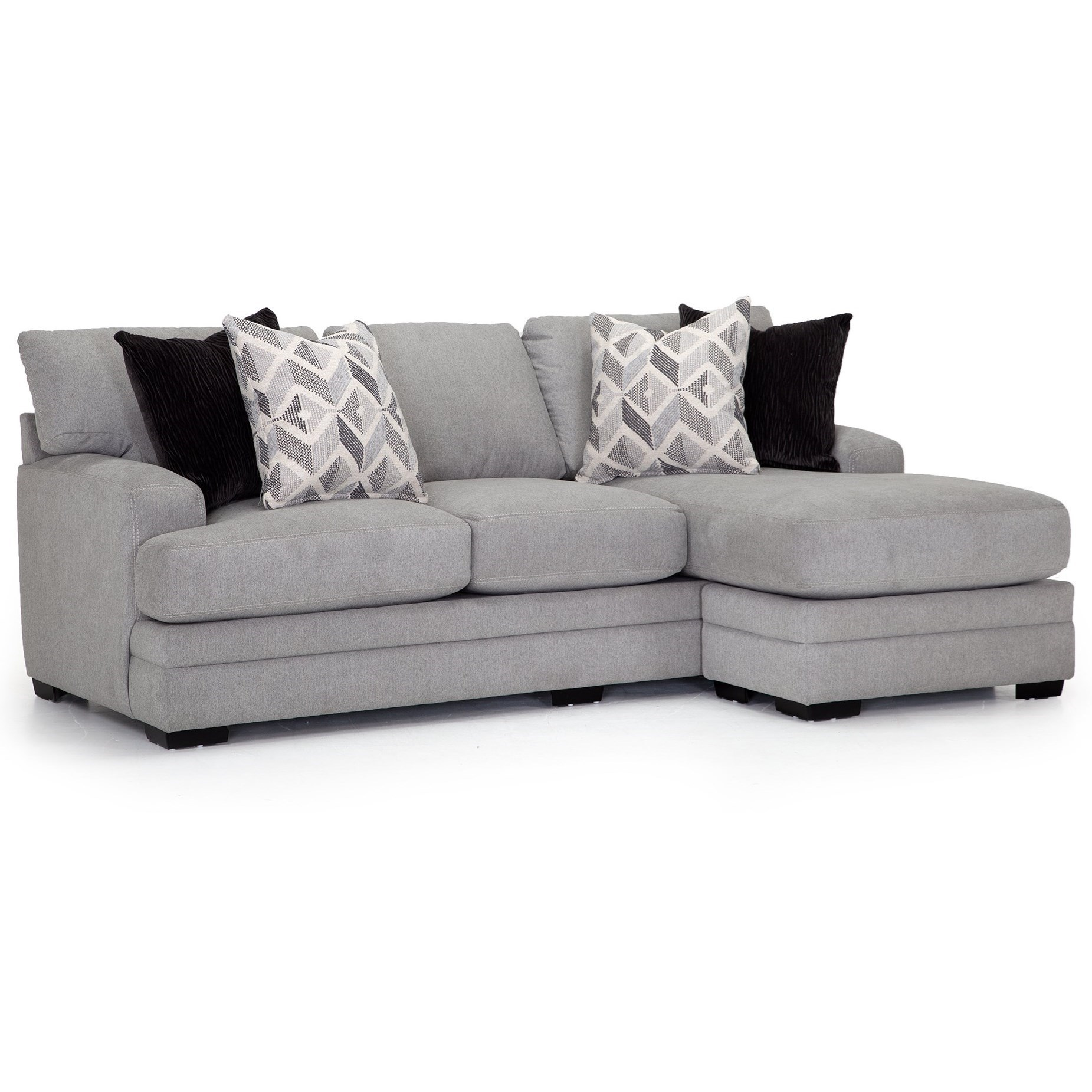 cleo sofa with reversible chaise