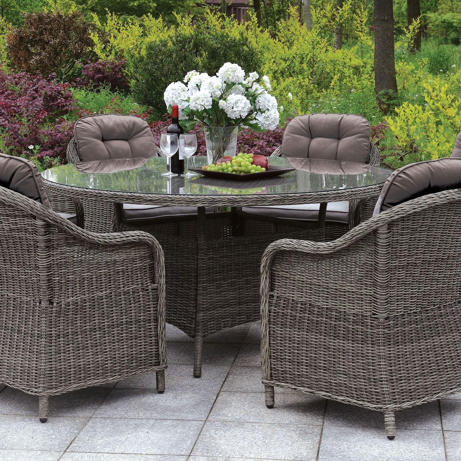 canistota 47 round patio table